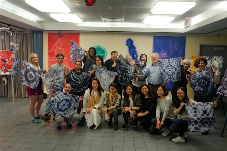 浦东少年宫,太阳虹画廊受加拿大魁北克孔子学院,加拿大道森学院国际交