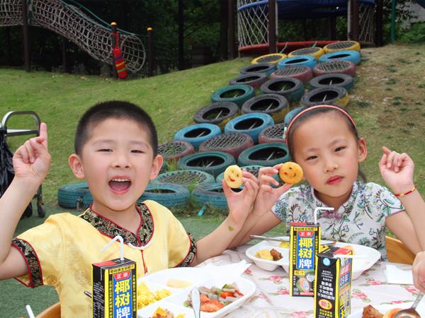 [闵行] 天恒名都幼儿园: 六一节 自助餐刮起中国风