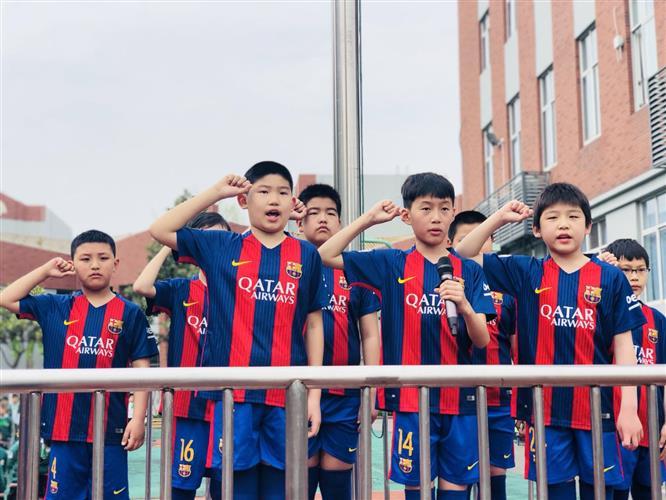 [浦东]园西小学:用足球释放激情 用奋斗体现精神