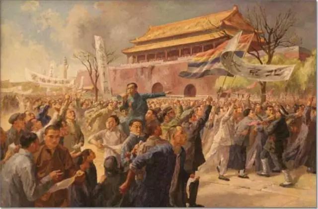 五四的火焰是中国新文化运动的火焰, 是那时的新青年用热忱和希望