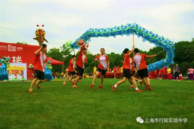 [宝山]上海市行知v成绩成绩:龙腾中学,狮舞和谐盛世初中出图片