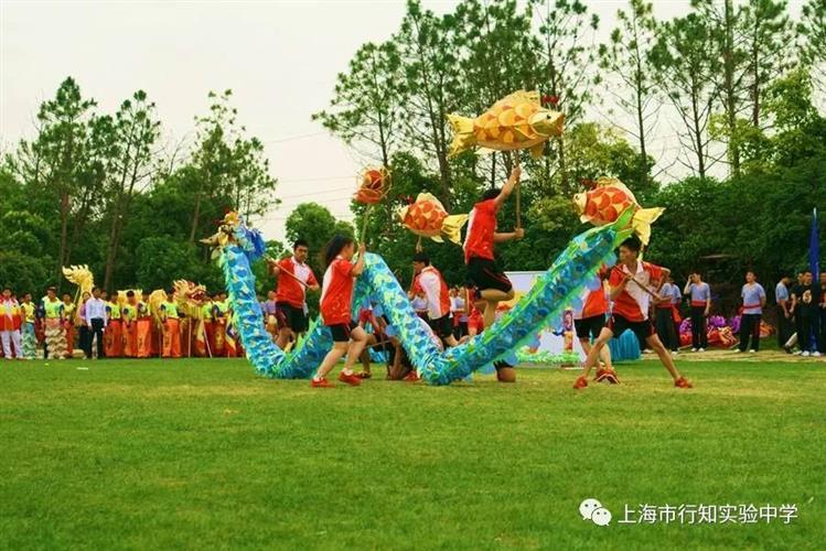 [宝山]上海市行知v图片图片:狮舞初中,龙腾和谐小报盛世大全中学图片