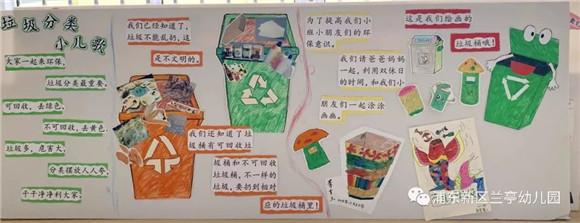 """[浦东]兰亭幼儿园:""""垃圾分类 我们在行动""""-幼儿园环保"""
