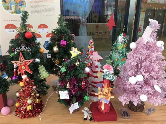 """上海圣地雅歌幼儿园:雅歌圣诞""""树""""起来"""