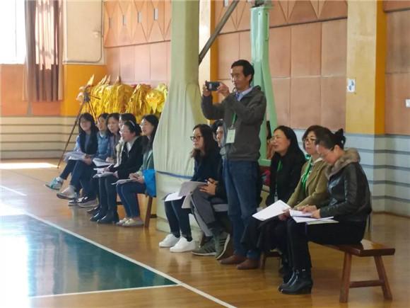 [浦东]杨思高级中学:携手共建前行砥砺主题v主题高中班会ppt图片