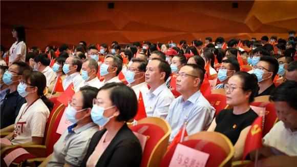 教育部党史学习教育高校第六巡回指导组到上海财经大学调研指导