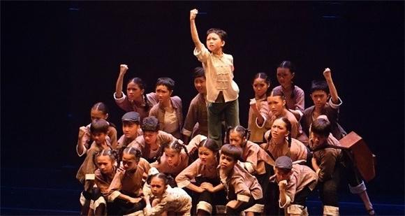 2021上海市青少年庆祝建党100周年艺术展演举行